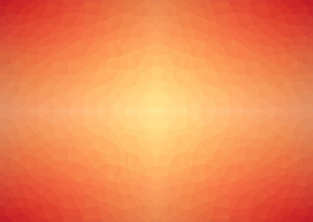 website backgrounds: Low polygonal red to yellow abstract background with shine from center