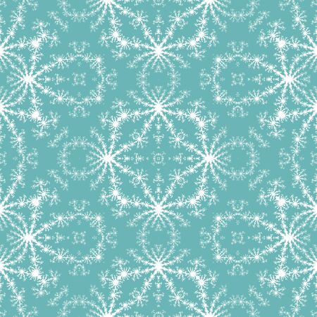 simulating: Seamless fractal pattern simulating frost on window geometrical background Stock Photo