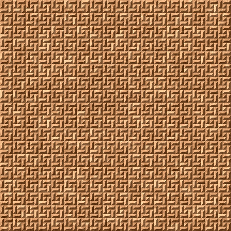 tiling: Seamless brown mosaic floor tiling pattern illustration