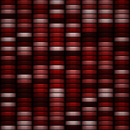 tokens: Seamless pattern of red and pink casino tokens