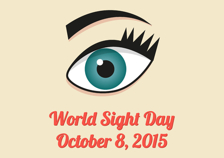 ocular diseases: Poster for World Sight Day - 8th October 2015