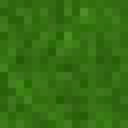 land development: Seamless green pixel pattern 8bit grass, lawn texture Illustration