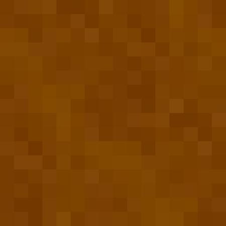 land development: Seamless brown pattern 8bit pixel dirt, mud, ground texture