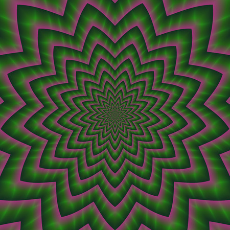 illustion: Colorful abstract colorful hypnotic tunnel optical illusion