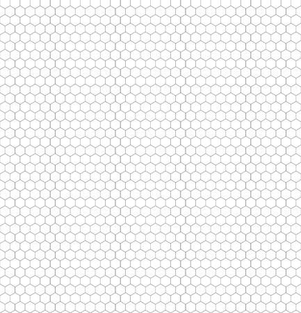 Bezszwowe czarno-białe sześciokątne wzory plastra miodu do Twojej koloracji