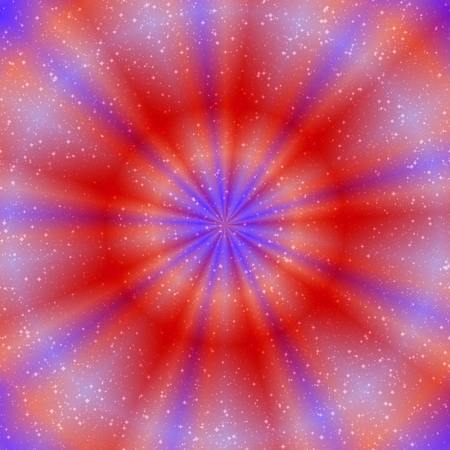 esoteric: Esoteric picture of glowing ring in red and purple colors