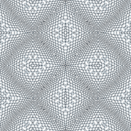 Unusual mosaic seamless texture pattern made of small hexagons Stock Photo