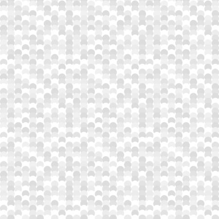 greyscale: Seamless pattern made of greyscale overlay circles without outline