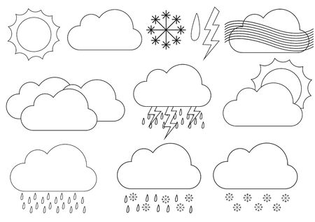 eg: Big collection of weather icons eg. for forecast applications