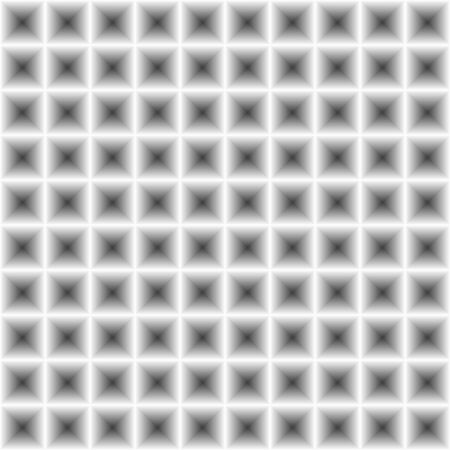 interesting: Seamless geometry abstract greyscale square pattern with 3d illusion effect, unusual and interesting texture, handy for further use