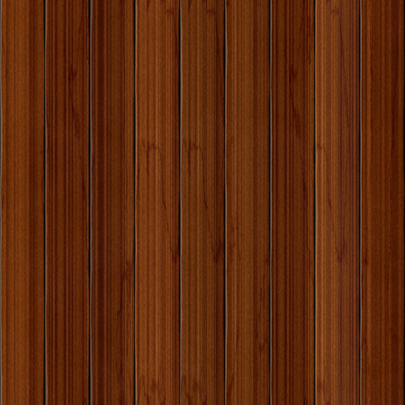 Seamless pattern made of detailed wood pickets (fence) made of walnut tree or cherry wood 写真素材