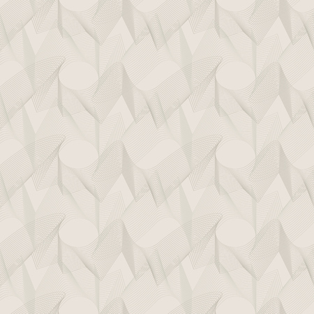 tiles texture: Vector seamless pattern. Unobtrusive abstract texture of wavy lines. Illustration
