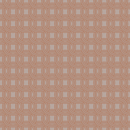 hauberk: Armor from steel rings. Seamless pattern. Illustration