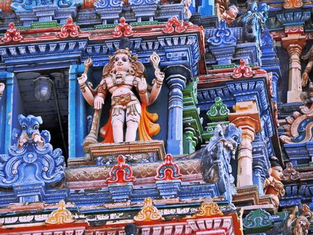 details on south indian temple