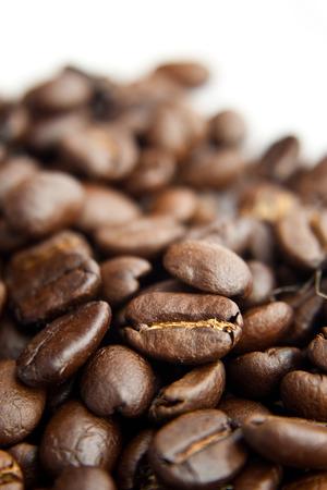fading: A fading coffee bean pile