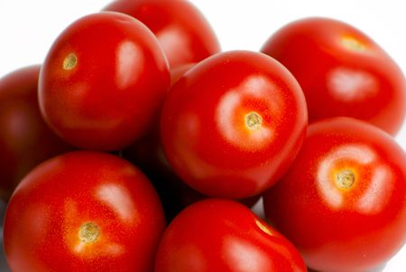 Bunch of Red Tomatos