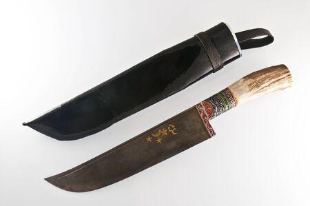 sheath: Knife and sheath