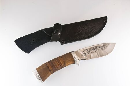 sheath: Knife and sheath
