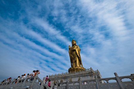 Guanyin statue of Mount Putuo Editorial