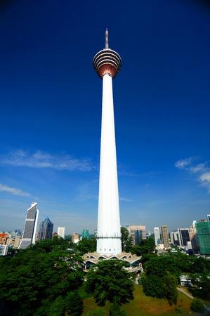 kl: KL Tower, Kuala Lumpur, Malaysia. Editorial