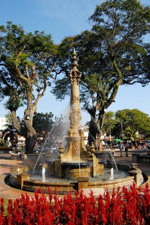 빅토리아 여왕의 분수, 말라 카, 말레이시아.