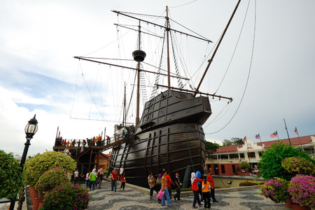 maritime: Maritime Museum, Malacca, Malaysia.