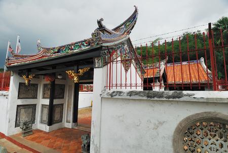 Poh San Teng Temple, Malacca, Malaysia. Stock Photo