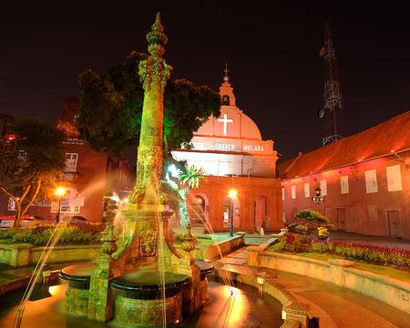 그리스도 교회, 말라카, 말레이시아.