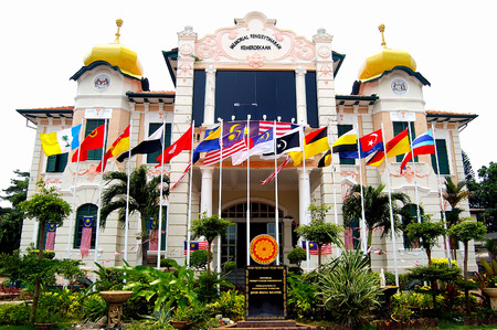 proclamation: Proclamation of Independence Memorial,Malacca,Malaysia. Editorial