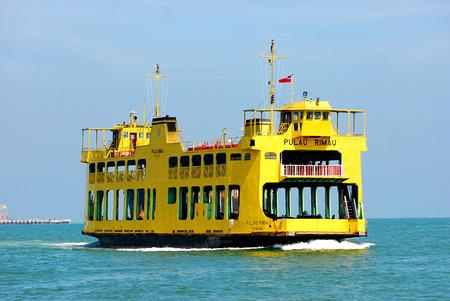 pinang: Penang Ferry Service, Penang, Malaysia. Editorial