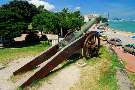 georgetown: Fort Cornwallis, Georgetown, Penang, Malaysia.