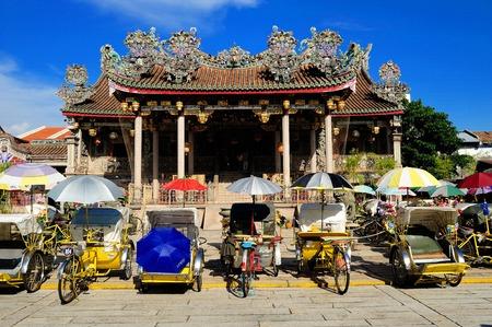 georgetown: Khoo Kongsi Temple, Georgetown, Penang, Malaysia.