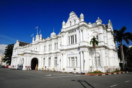 pinang: Penang City Hall, Georgetown, Penang, Malaysia.