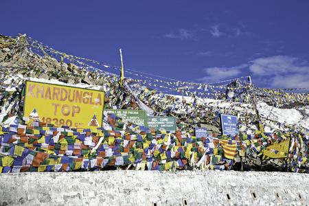 ancient pass: Khardung-La Pass, Leh-Ladakh