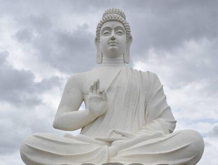 Buddha - A Worshiper of Non-violence Stock Photo