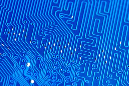 electronic circuit board as an abstract background photo