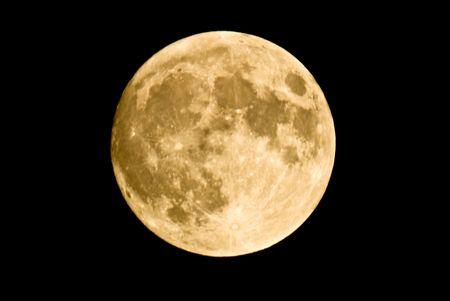 insanity: Portarretrato de luna llena, mostrando los detalles de la superficie lunar