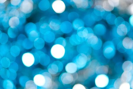 defocused abstract background of color night holiday lights  photo