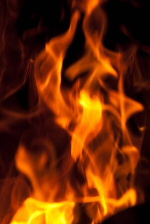 background from a fire, conflagrant firewoods and coals Stock Photo - 7969909
