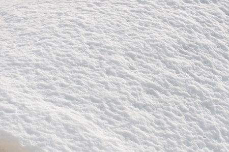 snowbanks: texture of the snow on a sunny day in backlit