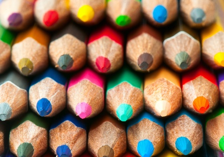 macro background of the pencil as an element for design. high resolution. Stock Photo