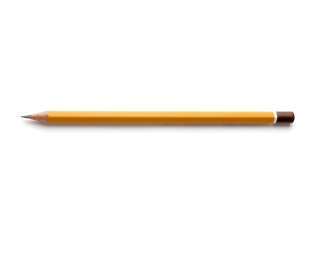 pencils isolated on a white background. Studio. Picture. Stock Photo