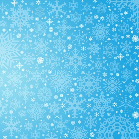 beautiful color high-res illustration with a holiday winter subject  Stock Photo