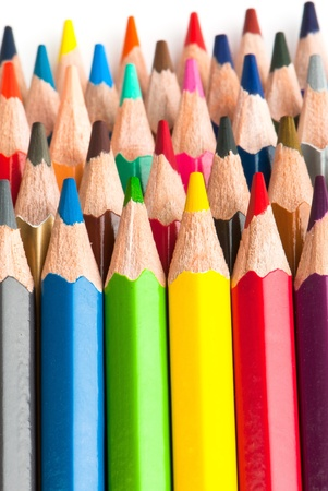 macro background of the pencil as an element for design. high resolution. Stock Photo - 12587505