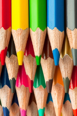 macro background of the pencil as an element for design. high resolution. Stock Photo - 12587783