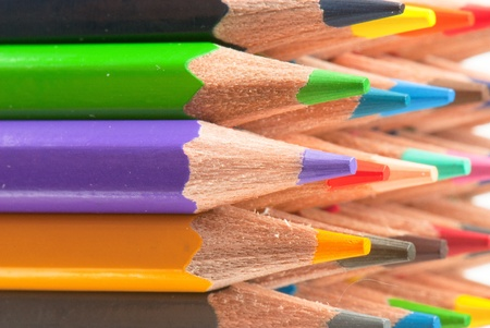 macro background of the pencil as an element for design. high resolution. Stock Photo - 12587845