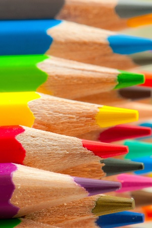 macro background of the pencil as an element for design. high resolution. Stock Photo - 12587481
