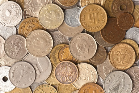 background from the age-old money of the different states Stock Photo - 12588117