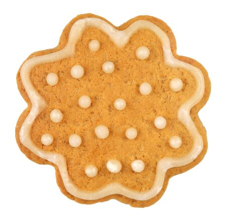 christmas gingerbread on white background Stock Photo - 10651674