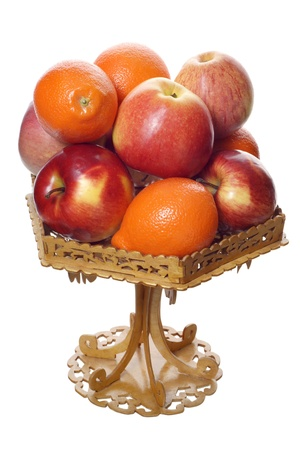 mandarins: apples and mandarins